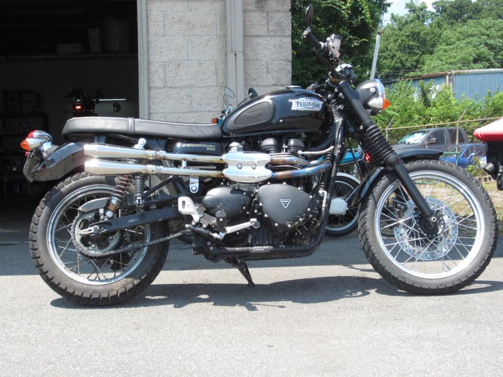 2009 Triumph Scrambler