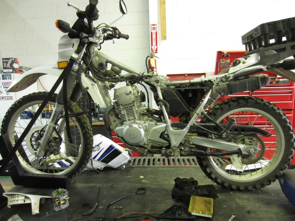 2001 Yamaha XT230