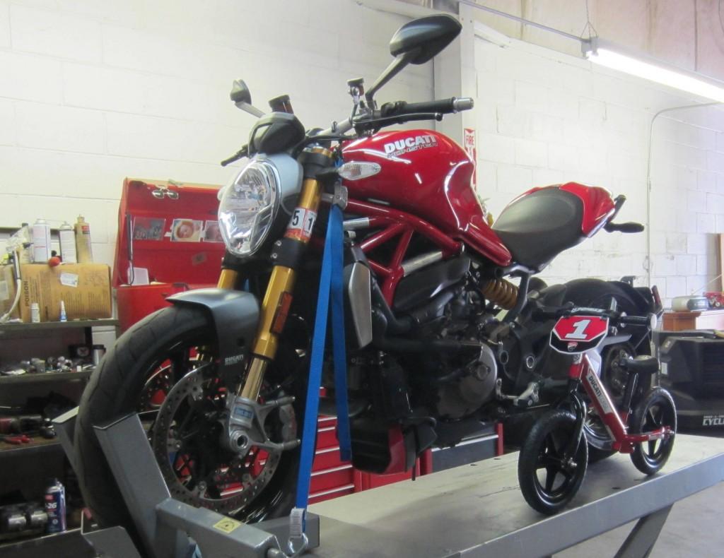 Strider Sport and 1200 Monster