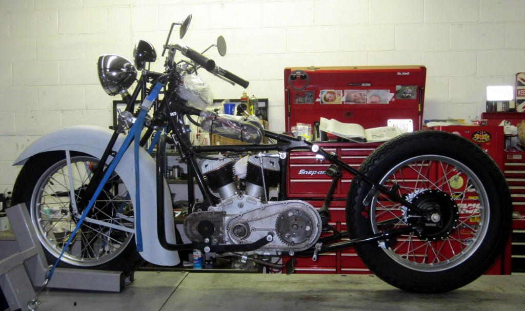 1941 Indian Scout Model 741