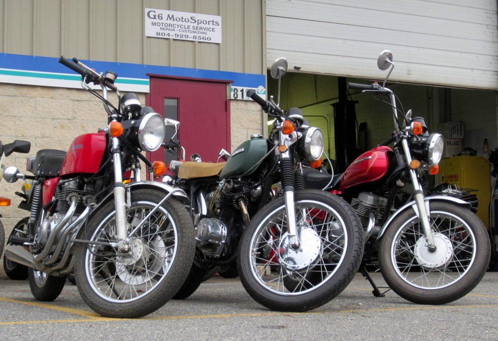 Honda trio