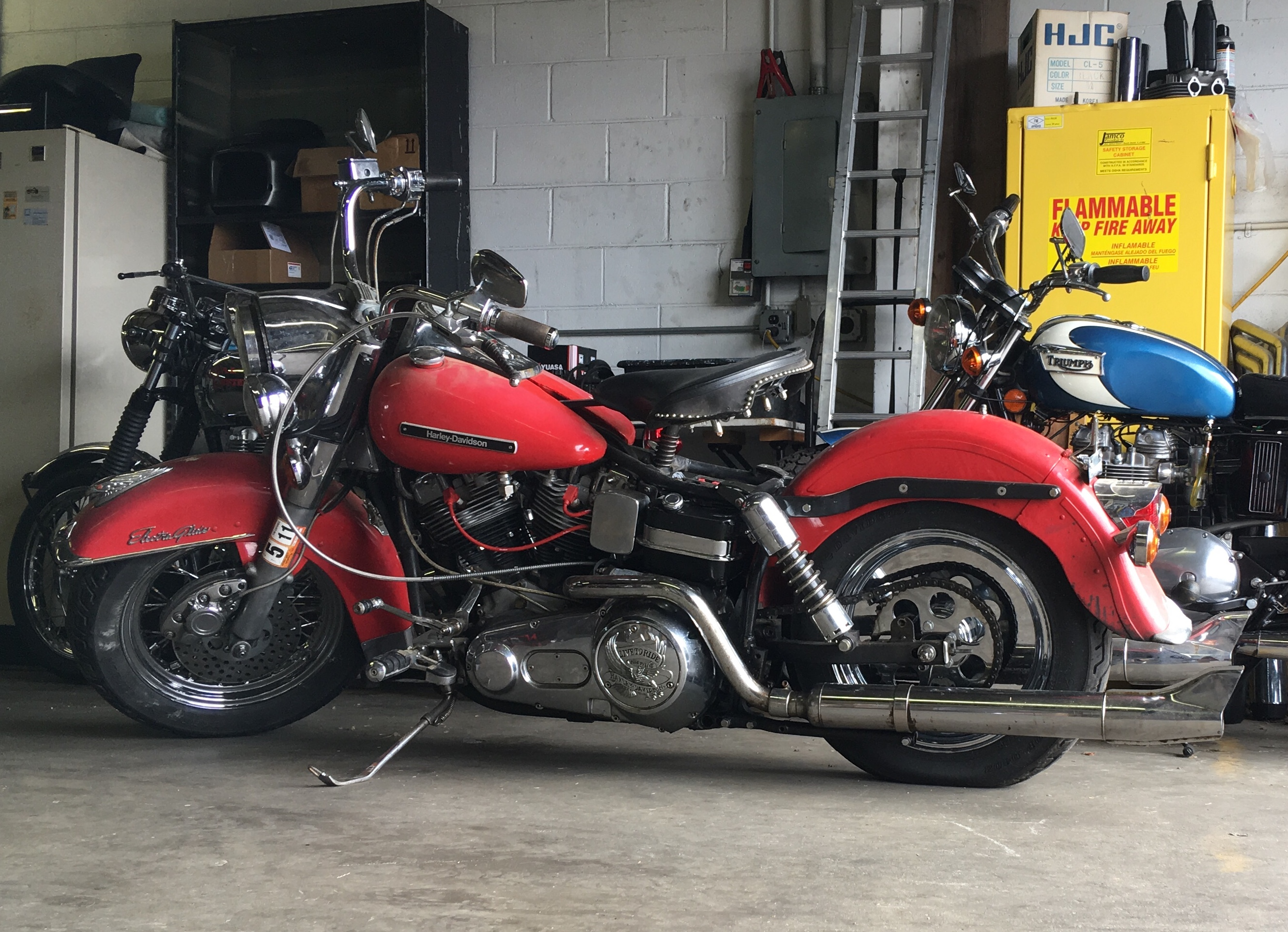 1979 FLH Electra Glide in patina | G6 MotoSports Motorcycle ... Harley Flh Wire Harness on